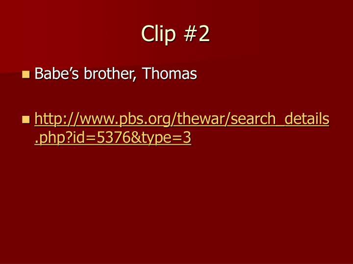 Clip #2