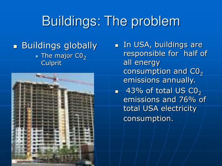 Buildings: The problem