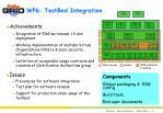 wp6 testbed integration