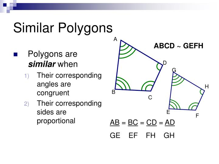 Similar Polygons