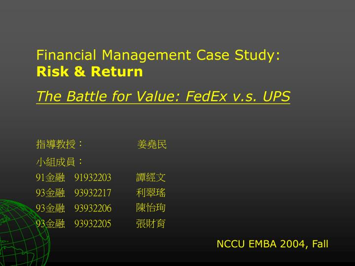 Fedex vs ups case study in qualitative research - buy essay