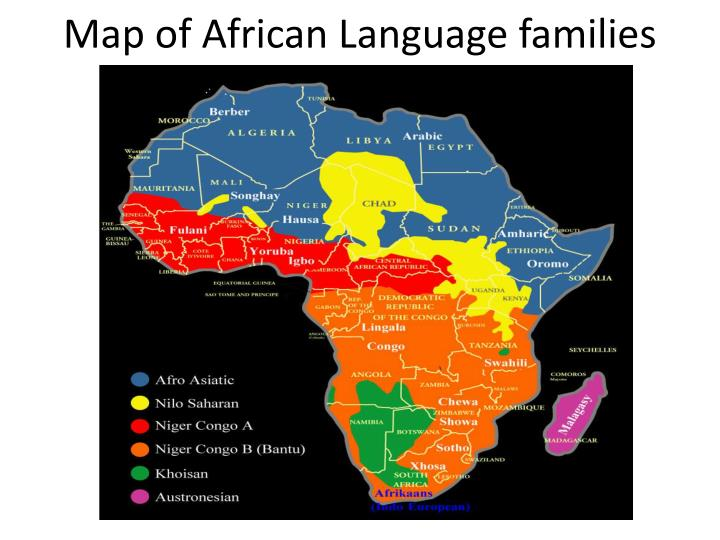Ppt African Languages And Development Powerpoint Presentation Id