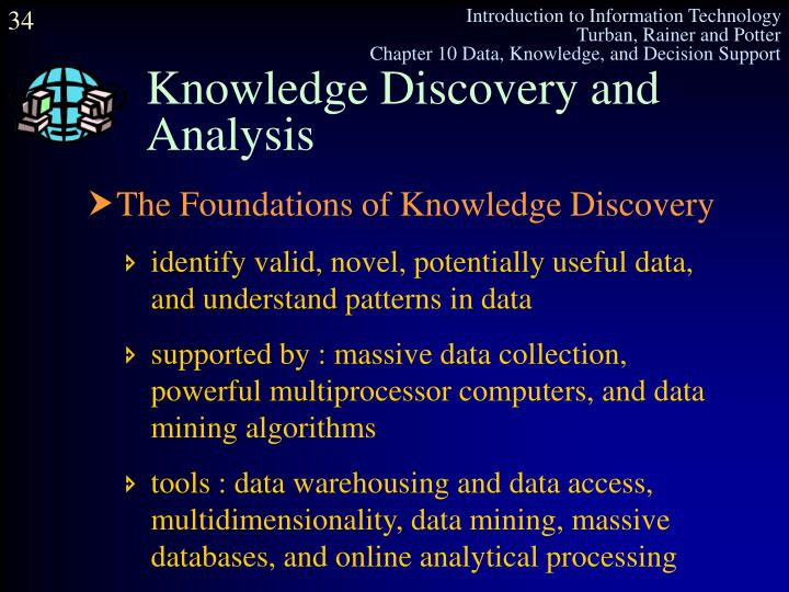 Knowledge Discovery and Analysis