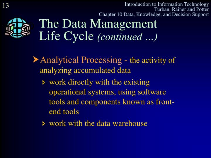 The Data Management