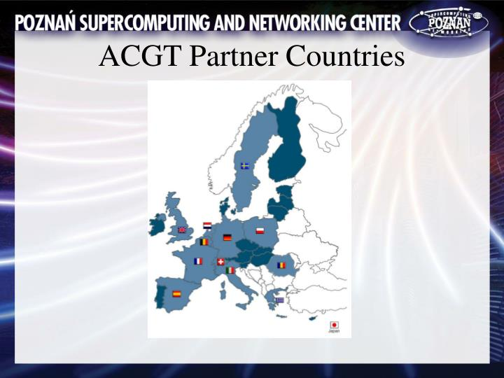 ACGT Partner Countries