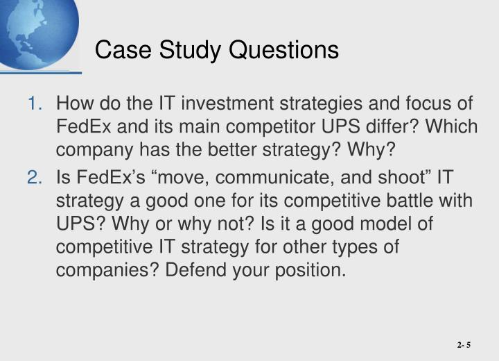 fedex competitive strategy