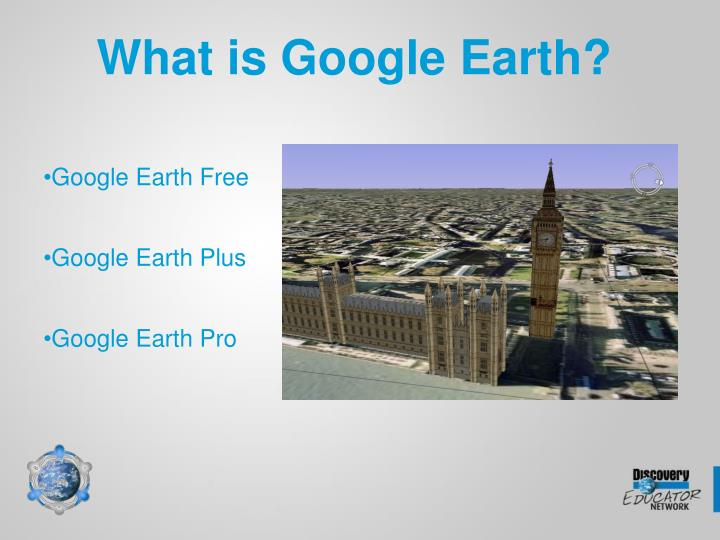 What is Google Earth?