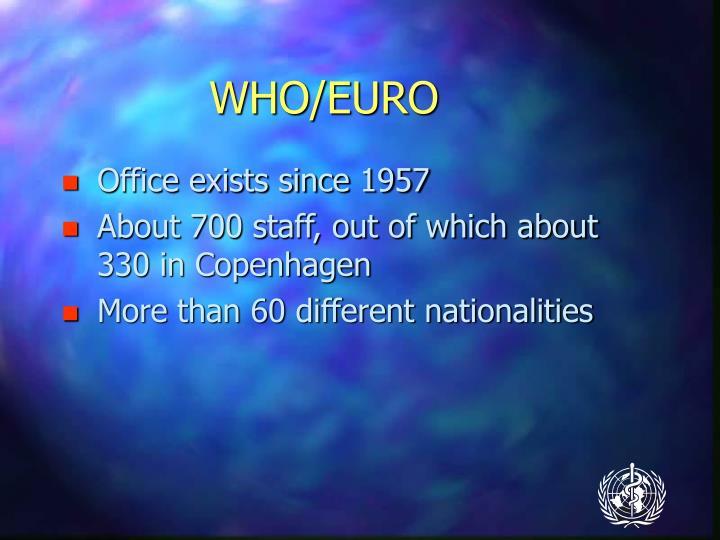 WHO/EURO