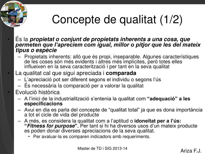 Concepte de qualitat 1 2