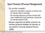 lem y netimi process management
