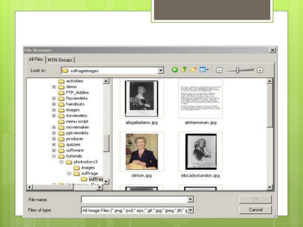 PPT - PhotoStory PowerPoint Presentation - ID:4142724