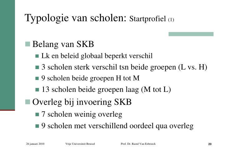 Typologie van scholen: