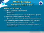 awips evolution what does it mean to you1