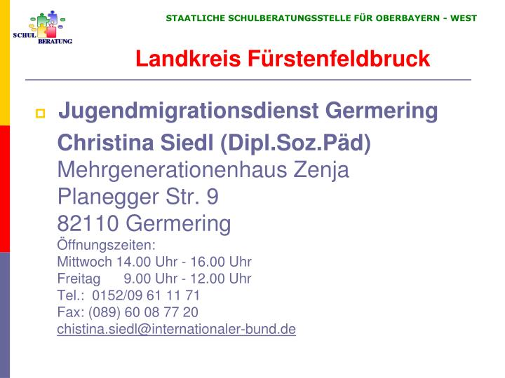 Jugendmigrationsdienst Germering