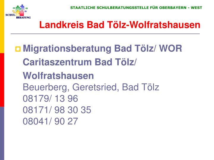 Migrationsberatung Bad Tölz/ WOR
