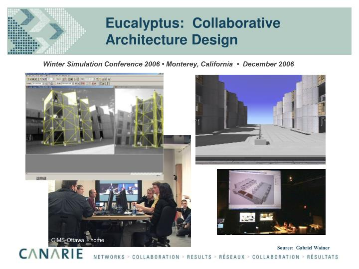 Eucalyptus:  Collaborative Architecture Design