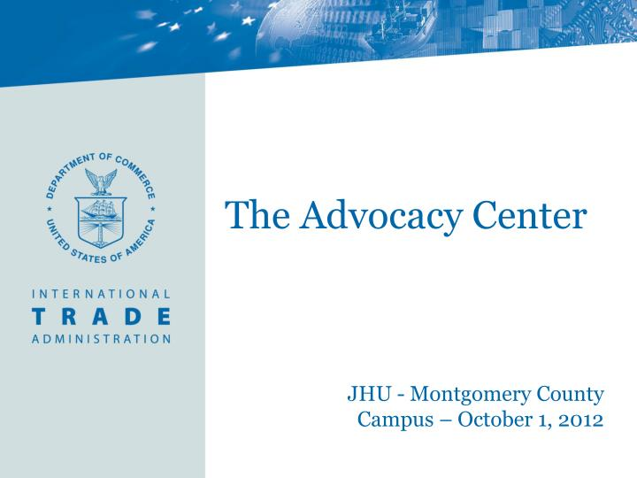 the advocacy center n.