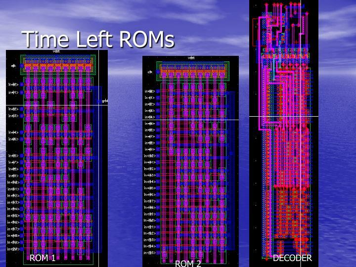 Time Left ROMs