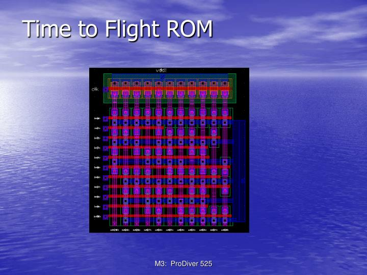 Time to Flight ROM