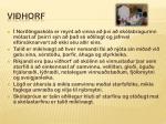vi horf