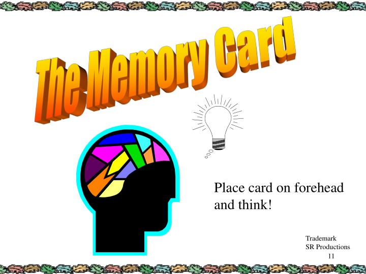 The Memory Card