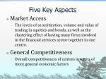 five key aspects1