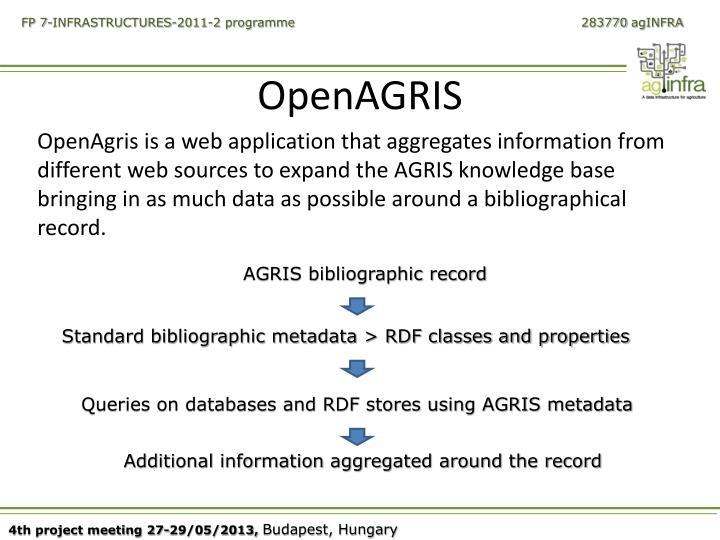 OpenAGRIS