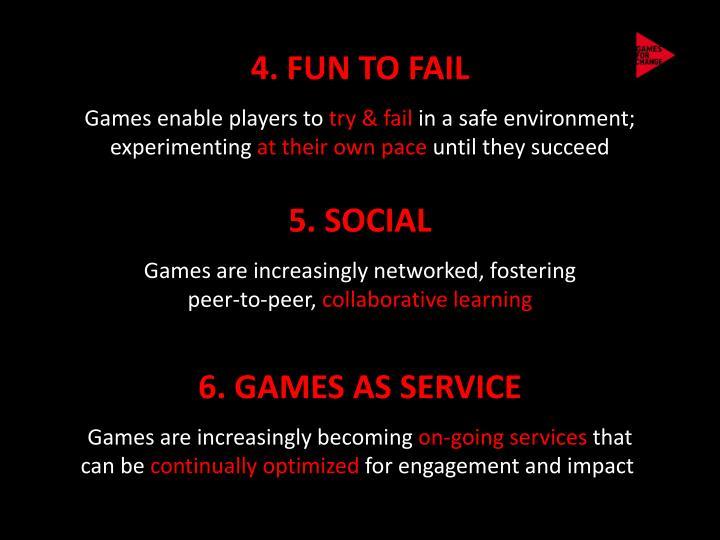 4. FUN TO FAIL