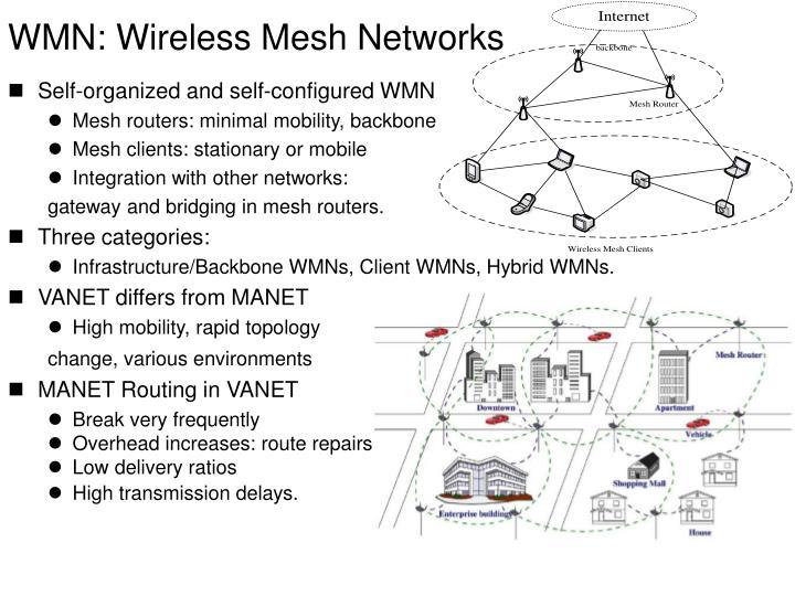 Wmn wireless mesh networks