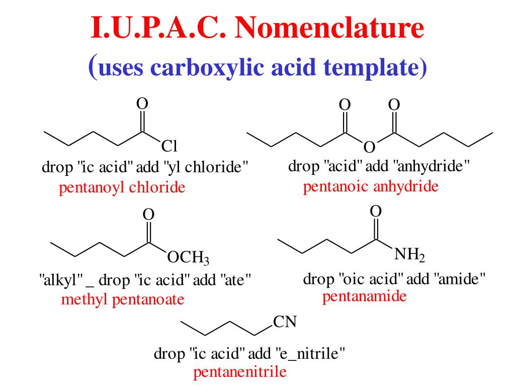 PPT - Carboxylic Acid Derivatives PowerPoint Presentation - ID:4145397