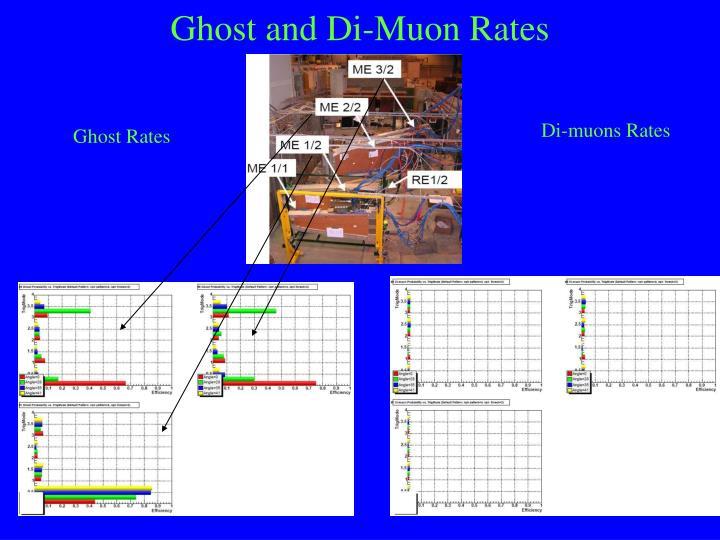 Ghost and Di-Muon Rates