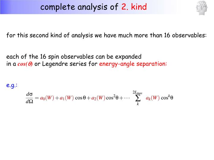 complete analysis of