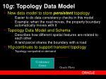10 g topology data model