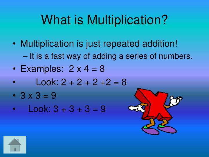 PPT - Multiplication: PowerPoint Presentation - ID:4146515