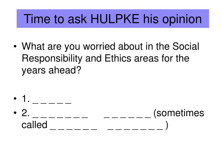 Time to ask HULPKE his opinion