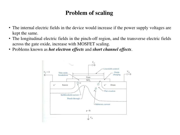 Problem of scaling