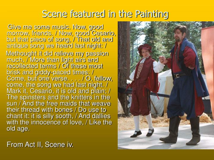Scene featured in the Painting