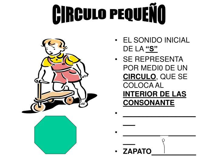 CIRCULO PEQUEÑO
