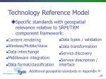 technology reference model