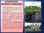 interesting places in england