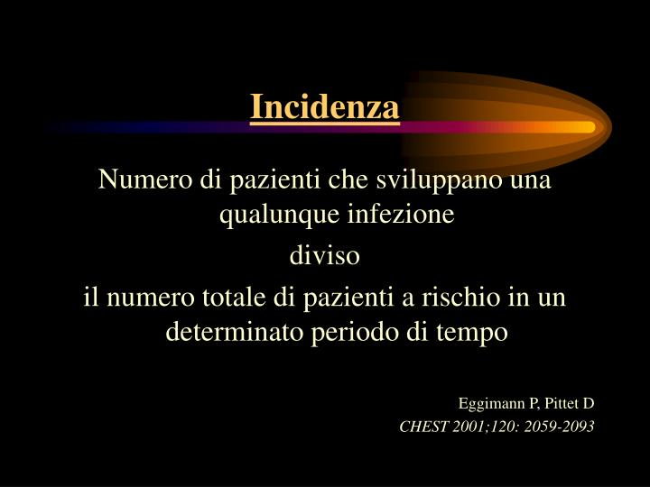 Incidenza