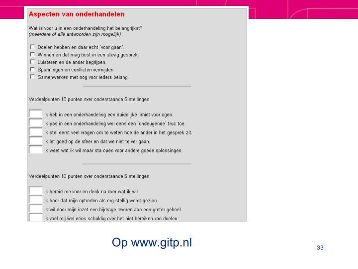 Op www.gitp.nl
