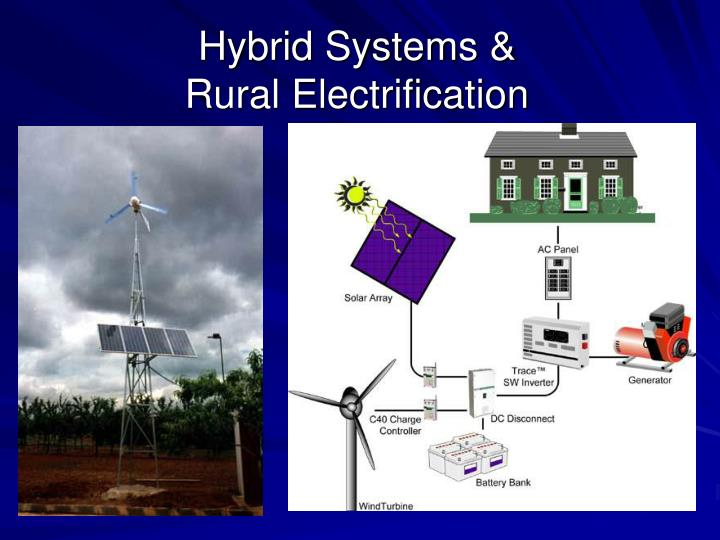 Hybrid Systems & Rural Electrification