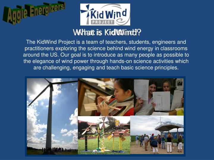 What is KidWind?