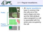 2 1 1 regular tessellations