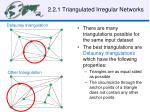 2 2 1 triangulated irregular networks1