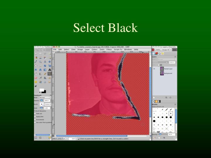 Select Black
