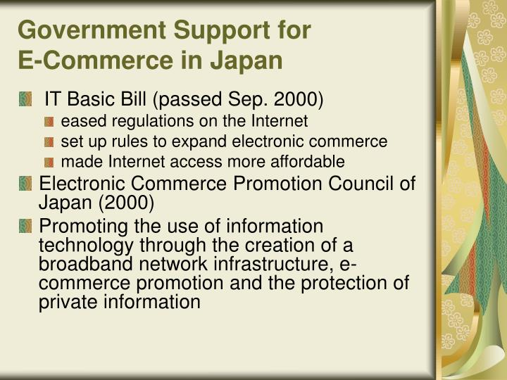 Government Support for