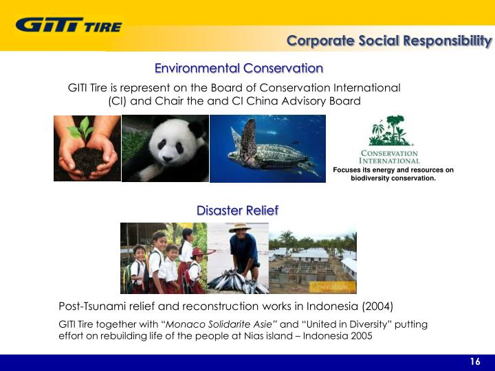Focuses its energy and resources on biodiversity conservation.
