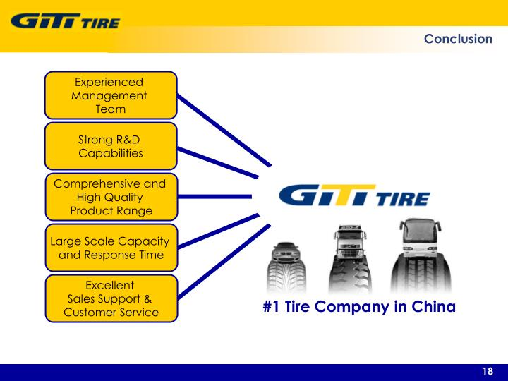 #1 Tire Company in China